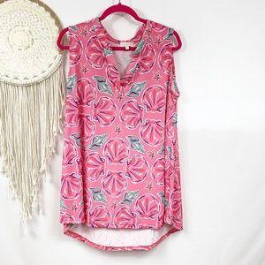 Simply southern Pink seashell beach dress